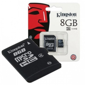 Kingston MC MicroSD 8GB SDC4/8GB